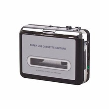 Portable Tape Cassette Convert To MP3 Player Converter With USB Cable Audio Capture Music Plug And Play Device