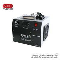 1 шт. 200 Вт led uv принтер головной модуль 395nm 1 голова led lmap для принтера трафаретная печатная машина, УФ планшетный принтер, УФ-клей сушка