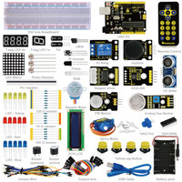 Free Shipping KEYES A Small Tool Box Electronic Kit For Arduino DIY Basic Kit 01