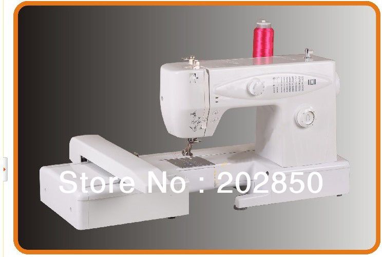 Free Shipping Domestic Computerized Sewing&Embroidery Machine,Complete Strong Metal Body,Built-in Over 3000 Pattern,Best Quality machine