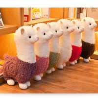25cm Alpaca Plush Toys 6 Colors Cute Animals Doll Soft Cotton Plush Toys Kids Birthday Christmas Gift
