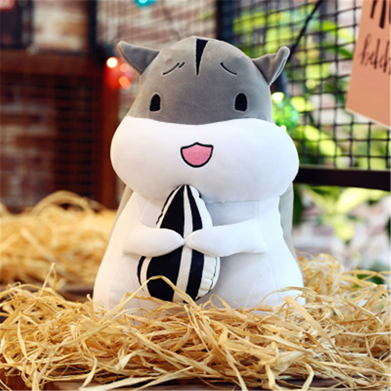 Stuffed & plush animals cute soft fairytale dreamy hamster doll popular toys soft and comfortable pet wood rag doll plush toys