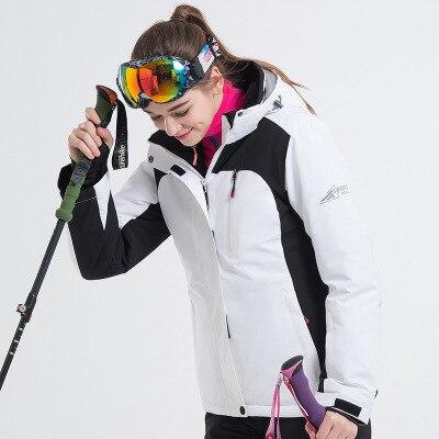 LANLAKA marque veste de Ski femmes ski snowboard vestes chaud manteau de neige respirant disponible femmes veste de Ski