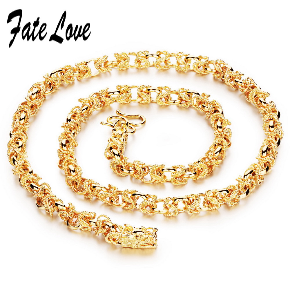 Fate Love New Fashion Hollow Twine Necklaces 60cm Length Chain ...