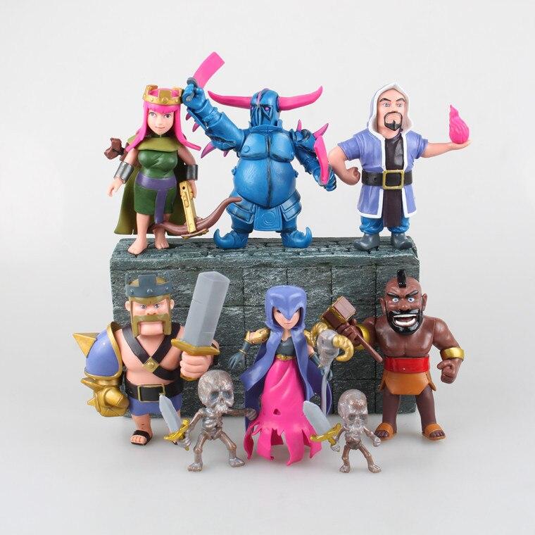 [Yamala] 2017 Горячая 8 шт./лот рисунок игры игрушки телефон игры модель Куклы подарки для друзей