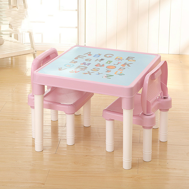 Children's Desks And Chairs Learning Table Children's Plastic Chairs Children's Desks And Chairs Combination Children's Learning #4
