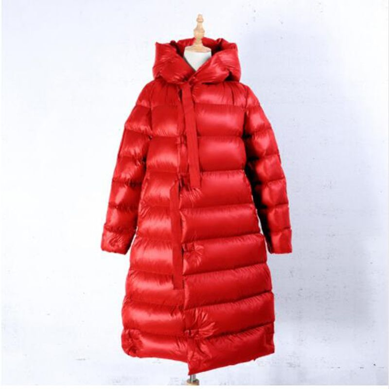 High Quality Winter 90% White Duck   Down   Jacket Women Fashion Long   Down     Coat   Parkas Thickening Female Waterproof Warm Clothes