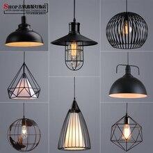 Retro RH Industrial Pendant Lamps for Warehouse/Bar a Gladiator Vintage Pendant Lights E27 Bulbs Edison AC110V/AC220V Lighting