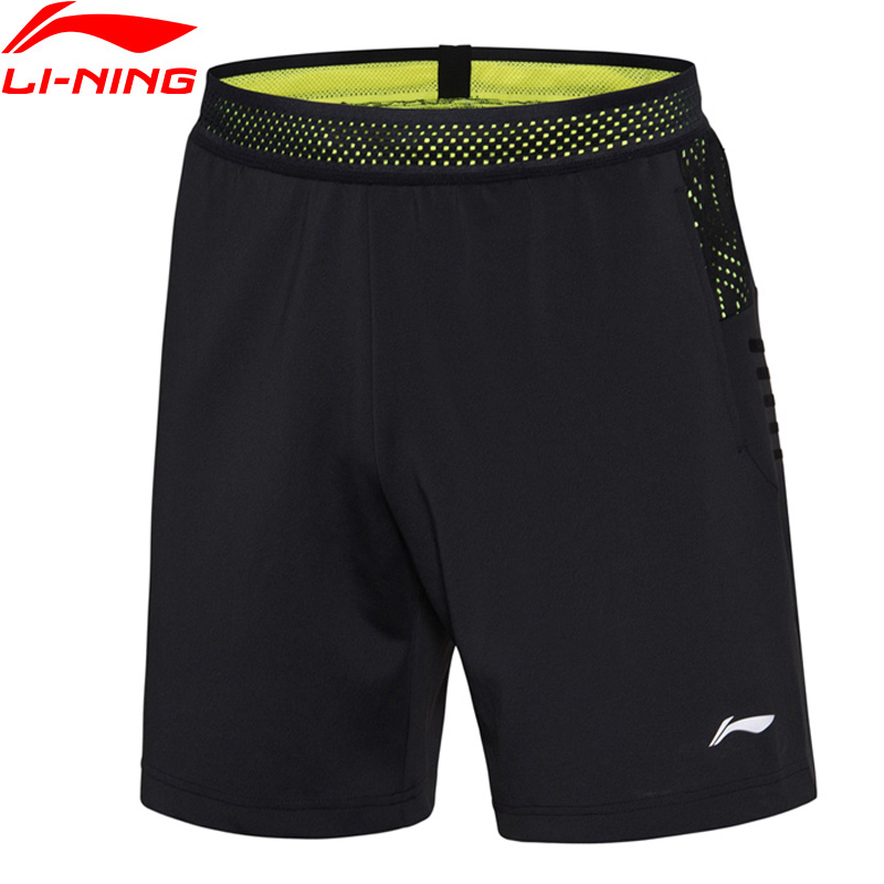 Li-Ning Men Badminton Shorts Thomas and Uber Cup National Team AT DRY Breathable Regular Fit LiNing Sport Shorts AAPN155 MKD1548