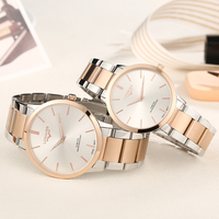 Lorinser Lovers Watches Full stainless Steel Swiss Quartz Wristwatches Sweet Couples Watch Elegance Business Watch Free Shipping