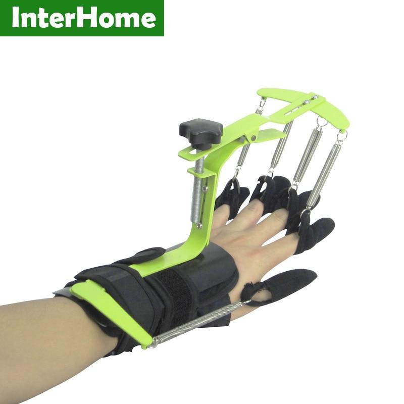 Orthèse dynamique de doigt de poignet d'entraînement de rééducation de physiothérapie de correcteur de Posture de main pour la réparation de Tendon d'hémiplgie d'apoplexie-in Bretelles et supports from Beauté & Santé    1