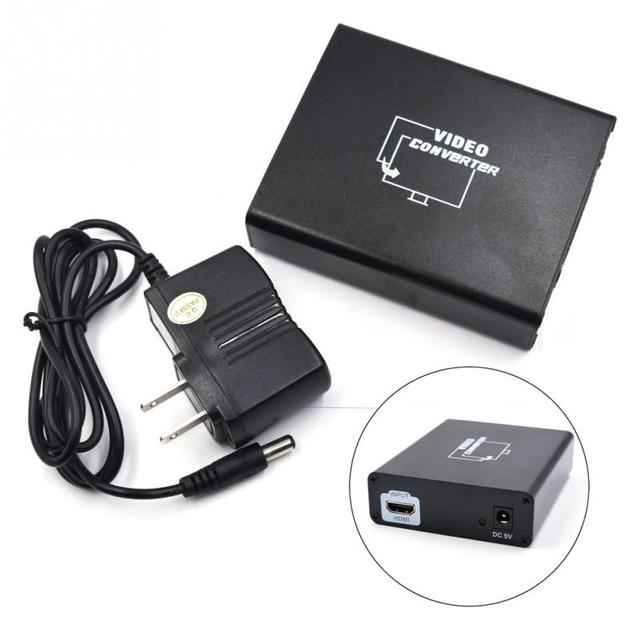New HDMI to Scart TV Video Converter 1080P Connect Computer Set top ...