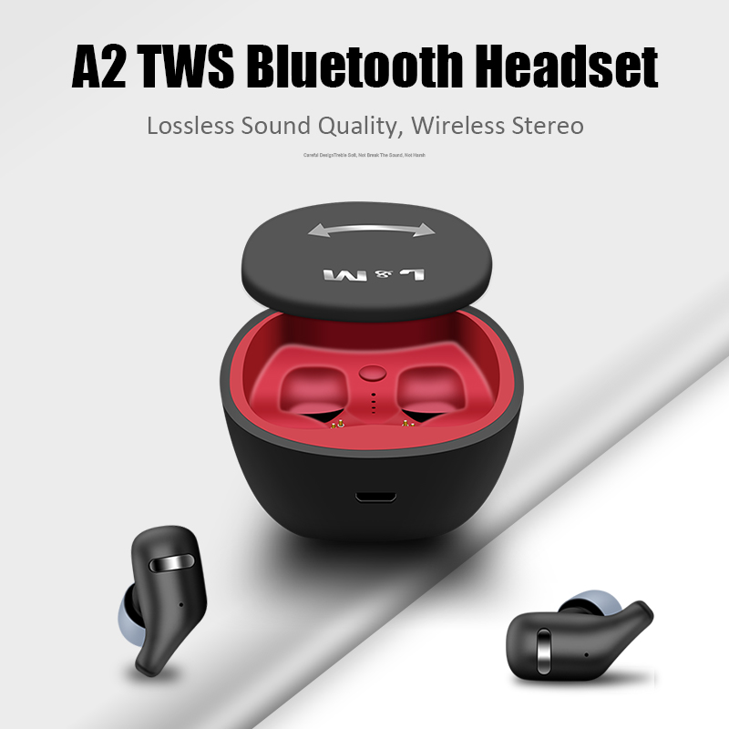 M&J TWS Bluetooth 5.0 Earphones And Earbuds With Mic For Handsfree Call 2
