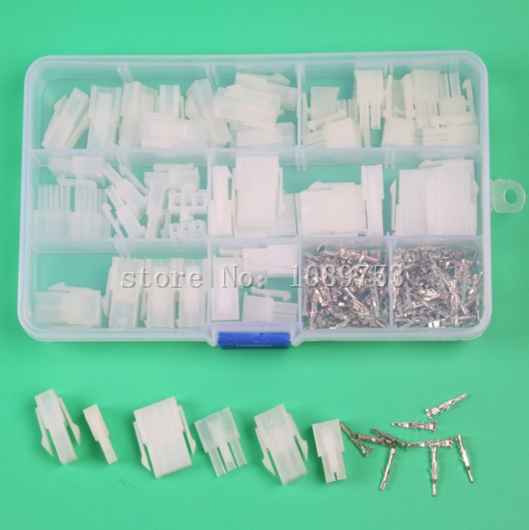 цена 25 sets 2pin 3p 4 pin 4.2mm Pitch Terminal / Housing / Pin Header Connector Wire Connectors Adaptor 5557 5559-2P Kits
