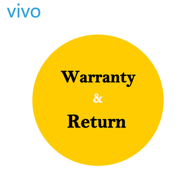 About warranty& return from vivo Authorized Store