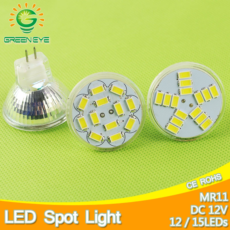 MR11 Led Spotlight DC 12V 3W 5W 5730 SMD LED Bulb Energy Saving Lamp Led Spot Light Bulb DC12v Cool White/Warm White Bombilla 4pcs led light bulb 4w smd 48led energy saving lights lamp bulb home kitchen under cabinet lighting pure warm white 110 240v