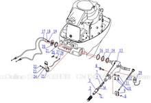 Frete grátis suporte de Direção componet para hidea HD15F 18F