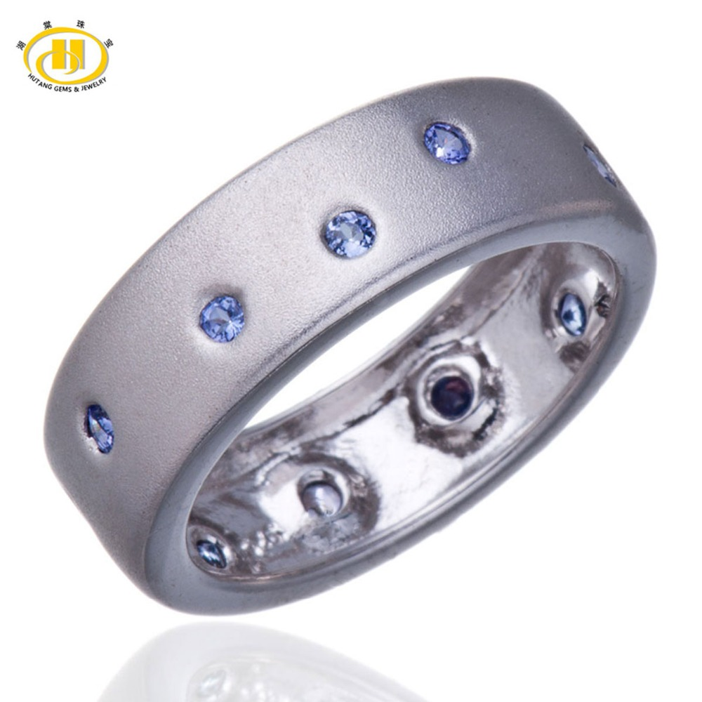 birthday natural for men fine s husband in tanzanite mens round ring gold gem white jewelry pin