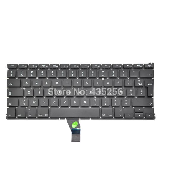 AZERT Envío Libre FR Francés Teclado Teclado Para Macbook Air 13 ''A1369 A1466 MC503 MC504 MC965 MC966