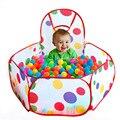 0.9 M/1.2 M/1.5 M Polka Dot Crianças Dobráveis Oceano Piscina De Bolinhas Piscina Infantil Indoor/Outdoor brincar de Casinha Barraca do Jogo