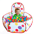 0.9M/1.2M/1.5M Polka Dot Children Foldable Ocean Ball Pit Pool Kids  Indoor/Outdoor Playing House Play Tent