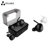 Hot Syllable D900 MINI D900S Updated Version Stereo Bluetooth Earphone Headset Wireless Earbuds With Charge Box