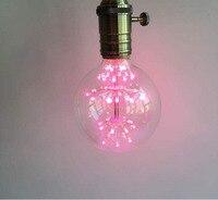 G12 E27 LED Bulb Christmas Tree Warm White Red Blue Green Light Loft Retro Style Fit
