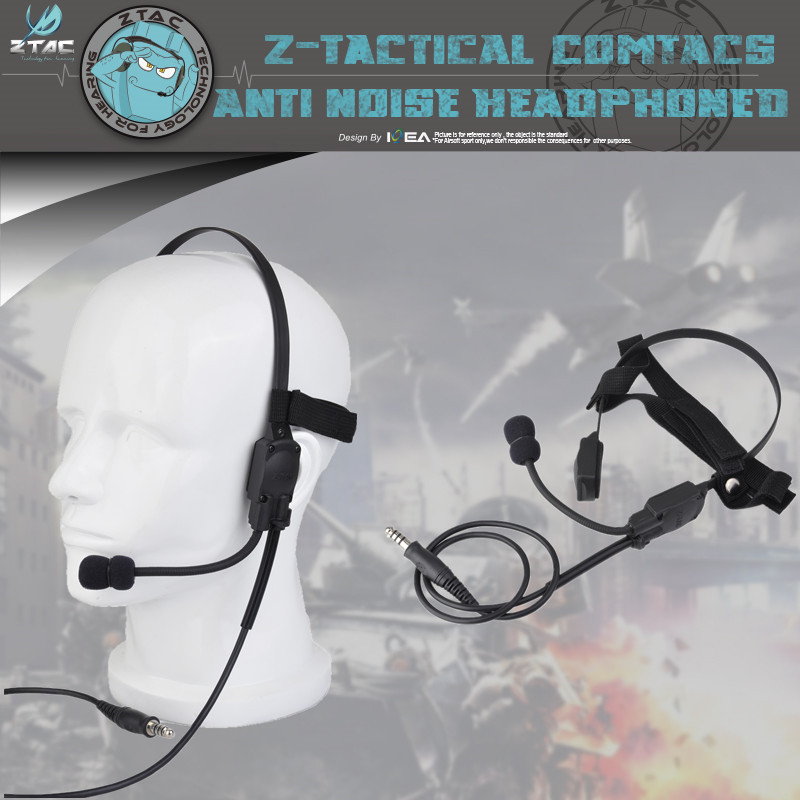 Apply To Any Z-TAC Series Ptt Z-Tactical Headset PTT Z136 Mh180-v Atlantic Signal Headset The Bone Conduction Speakers