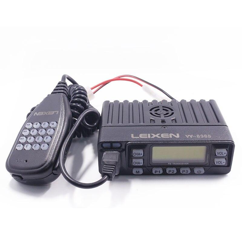 LEIXEN VV 898 Mini 25W 199CH Dual Band VHF UHF 144 430MHz L M H 4W