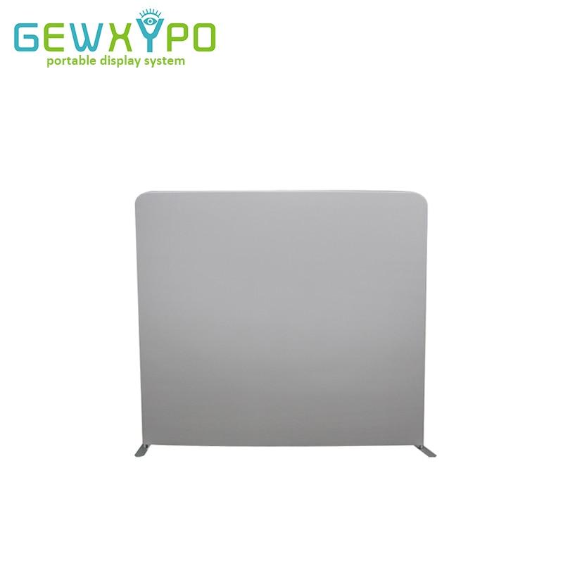 Mur darrière-plan blanc Portable | Stand de photos, support de présentation de couverture en tissu facile avec bannière de couleur blanc ou noir, 8ft * 7,5ft
