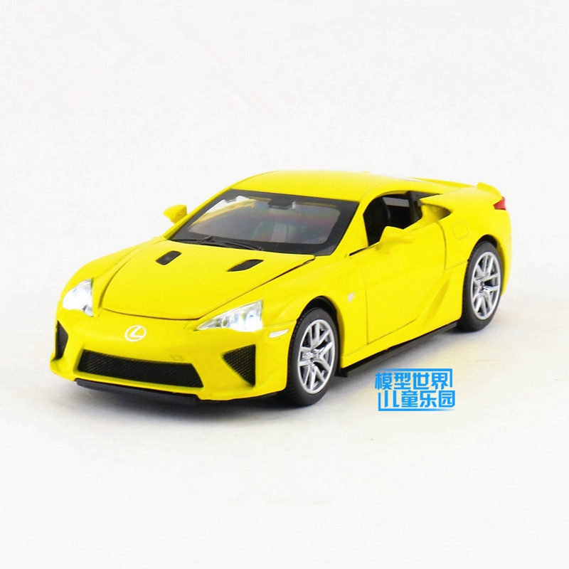 1:32 Scale/Diecast Metal Model/Lexus LFA Super Car/Sound U0026 Light/For  Childrenu0027s Gift/Educational Collection/Pull Back Toy In Diecasts U0026 Toy  Vehicles From ...