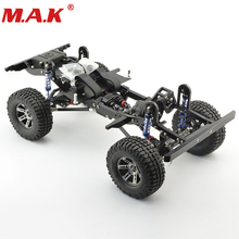 Details about  1:10 RC Crawler Xtra Speed D90 Car Body Chassis Frame Kit With Wheels 280mm
