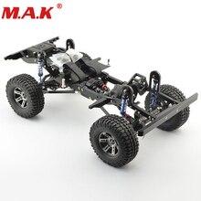 Details over 1:10 RC Crawler Xtra Snelheid D90 Auto Body Chassis Frame Kit Met Wielen 280mm