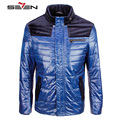 Seven7 Brand Men Fashion Coats Jackets Color Block Spliced Regular Fit Parkas Men Autumn Winter Warm Jackets Size S-4XL 705K2466