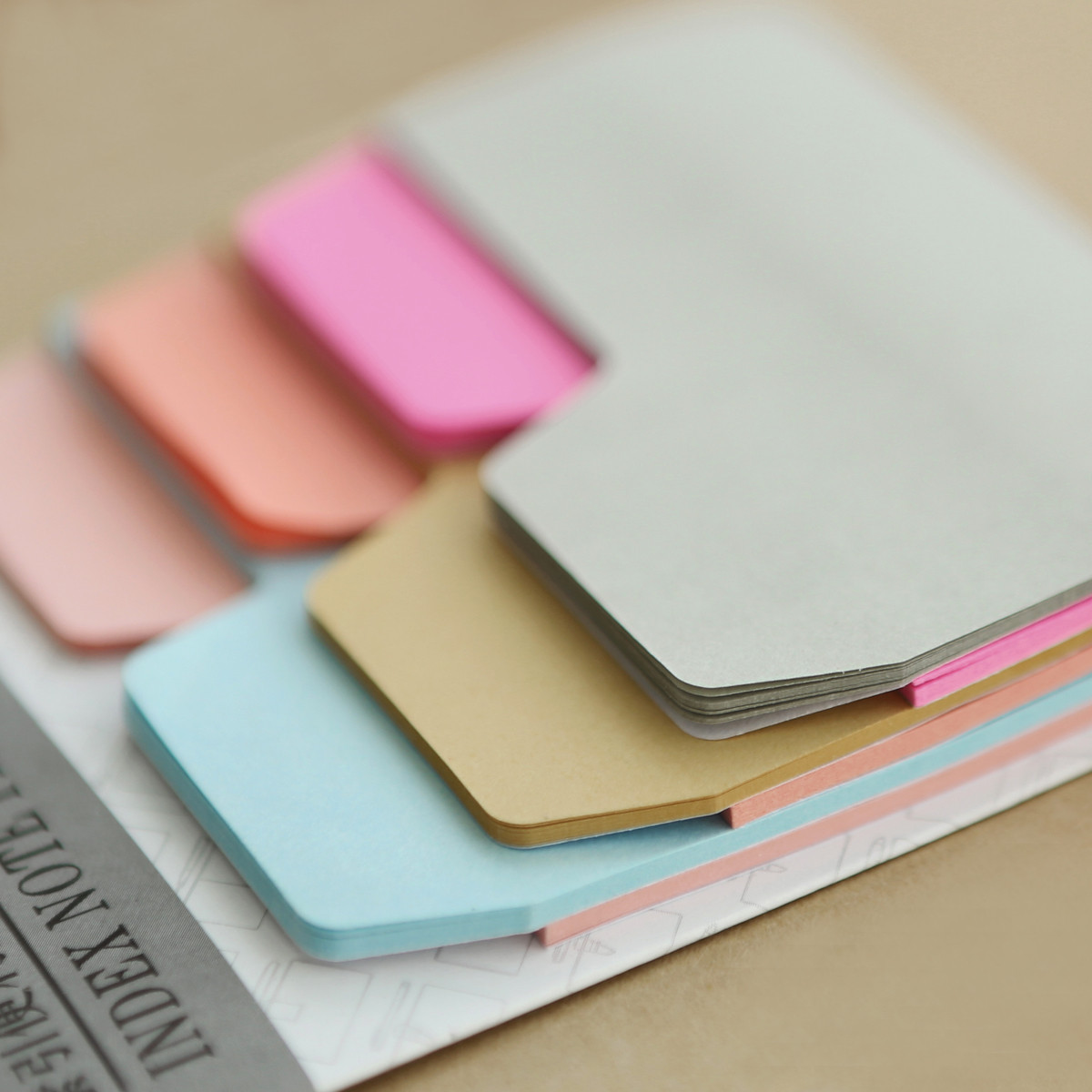 Vintage sticky stickers 90 sheets notebook tools personality notes posted memo pads decorative self adhesive index note paper