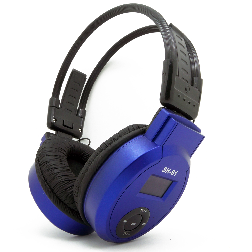 HI-FI Headphone MP3, LCD Foldable Headset MP3 Music Player, 3.5mm AUX Cord Auriculares Fm Radio TF Card Mp3 Player For Kid Gift