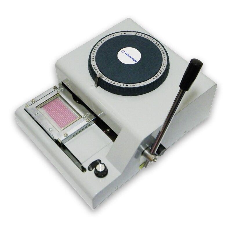 PVC Code Printer for Embossing Number Machine on pvc card сумка поясная dakine classic hip pack цвет синий черный 0 6 л