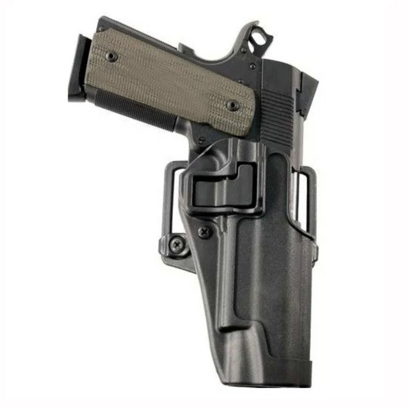 Quick Drop Tactical Colt 1911 Pistol Holster Military Shooting Airsoft Right Hand Gun Carry Case Belt Holster Hunting Accessorie