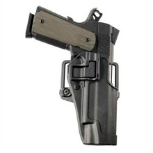 Free Shipping Quick Draw Tactical Airsoft Holster Military Right Hand Paddle with Belt Holster Black Case for Pistol Colt 1911 printio free draw