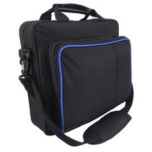 ALLOYSEED for PlayStation 4 PS4 Bag Game Consoles Original Size Protect Shoulder Carry Travel Carrying Case