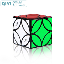 QiYi MoFangGe Ancient Coin Magic Cube XMD Cubo Magico Professional Speed Neo Puzzle Antistress Fidget Toys For Children