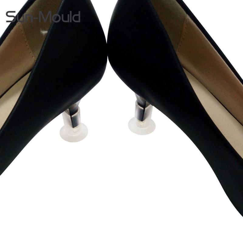 کفش محافظ پاشنه بلند 1.3 سانتی متر آنتی اسیدها کفش جهانی پاشنه کفش چمن ساحل کفش عروسی پاشنه پا 5p / lot