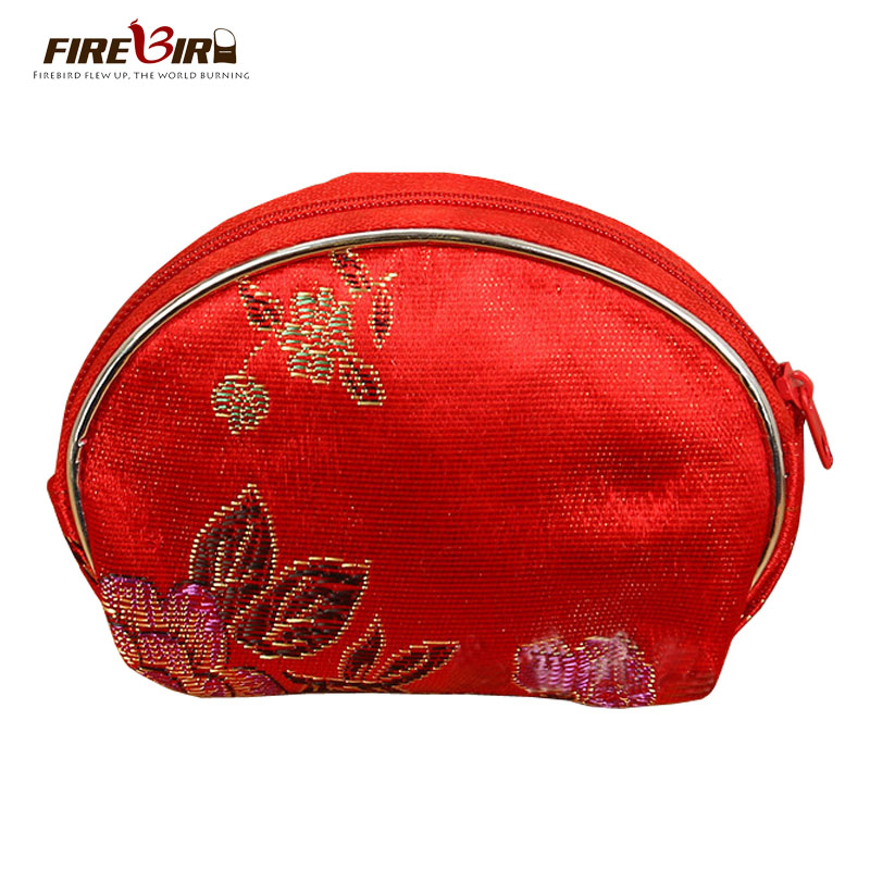 FIREBIRD!coin purse bag wallet purse embroidered ethnic style Vintage traditional embroidery wallet women's purse L143