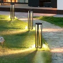 Thrisdar наружный садовый светильник для тропинки, алюминиевый садовый газон, блокираторы света, водонепроницаемый, для двора, парка, ландшафтных лужаек