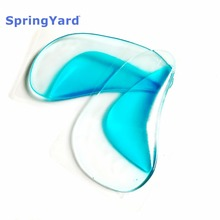 ФОТО springyard (2 pairs/lot) gel kid's x-leg flat foot orthotics arch support cushion orthopedic insoles: suit to 2-4 years child