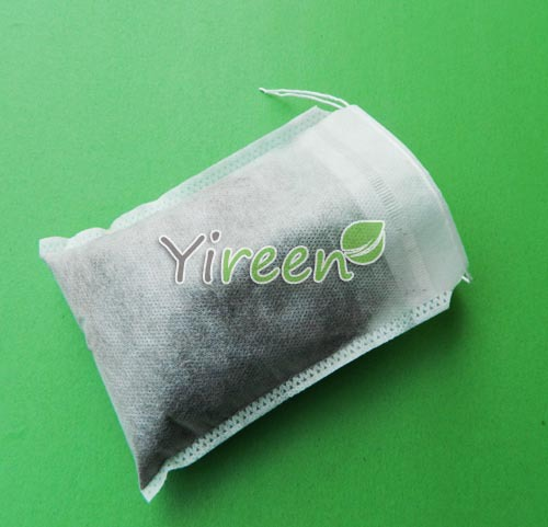 100pcs 160 X210mm Non woven Fabric Single strings Empty tea bag filtering Herb tea for Chinese medicine in Tea Strainers from Home Garden
