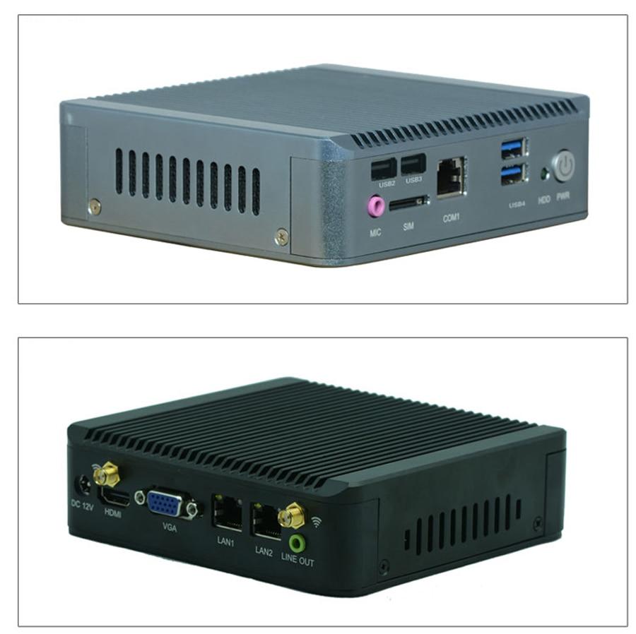 4 GB RAM 64 SSD Ultra Low Power Mini PC Computer J1900 Untersttzung