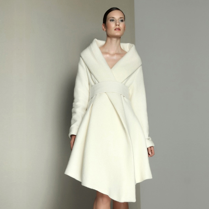 White Wool Coat Womens - All The Best Coat In 2017