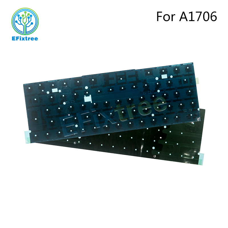 2016 2017 Original New A1706 Layout For Macbook Pro Retina 13 A1706 Keyboard Backlight Replacement Layout EMC 3162 EMC 3071 image