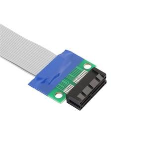 Image 3 - Pci e 1X スロットライザーカードエクステンダー延長リボンフレックスケーブル pci express リードドロップ配送 0804